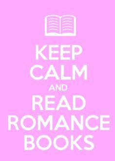 Keep calm and read romance books