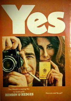 Benson & Hedges 1971 ad.