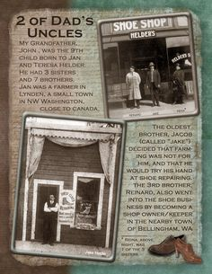 2 Uncles & 1 Aunt - Scrapbook.com