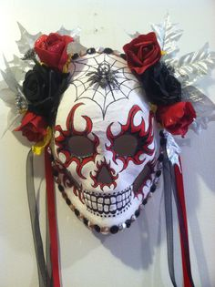 Here's another Day of the Dead mask.