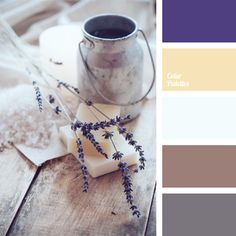color in provence style palettes with color ideas for decoration your house, wedding, hair or even nails.