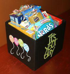 Cricut Movie Gift Box
