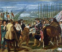Diego Rodriguez de Silva y Velasquez - The Surrender of Breda, 1625, c.1635