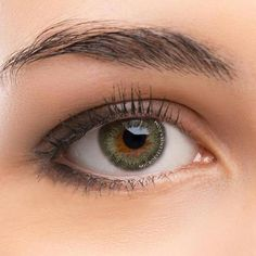 CircleColour® Soft Eye Circle Lens Vintage Olive Green Enlarge Colored Contacts Lens - Gwenli Nelson Home Green Contacts Lenses, Colored Eye Contacts, Grey Contacts, Lenses Eye, Brown Contact Lenses, Coloured Contact Lenses, Makeup Tips, Eye Makeup, Makeup Ideas