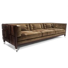 MAL SOFA that looks so comfy and it is on wheels so it can be easily moved. Love it