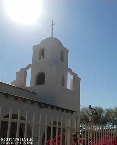 The Old Adobe Mission - Old Town Scottsdale