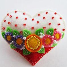 Милые сердцу штучки: Фетровые миниатюры от Paulette Racanelli