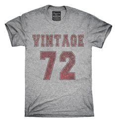 1972 Vintage Jersey T-Shirt, Hoodie, Tank Top