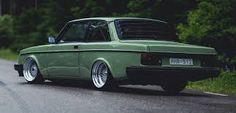 242 volvo - mint green low rider-2
