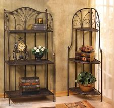 Corner Bakers Rack With Storage Endearing Powell Coventry Storage Baker's Rack  Furnishings  Pinterest Decorating Inspiration