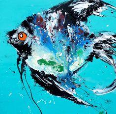 qunce-zeng-artiste-peinture-le-poisson-fond-bleu-vert-galerie-art-contemporain-jean-jacques-rio-auray-golfe-du-morbihan-bretagne-1.jpg (1573×1552)