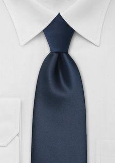 Kinder-Krawatte navy