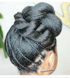 Cute Hairstyles For Kids, Teen Hairstyles, Stylish Hairstyles, Natural Hair Updo, Natural Hairstyles, Braid Styles, Short Hair Styles, Twist Styles, Twisted Hair