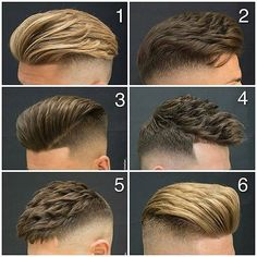 Hair style Which do you prefer? Tag a friend. Follow @stylemensbr #Hair #Haircut #Hairstyle #Menslook #Mensstyle #Mensgrooming #Barbergang #Barberlove #Barberworld #Barberlife #TheBarberpost #BarbershopConnect #Barbersinctv #Barbers #Coolhair #Barber #Barbershop #Quiff #Peluqueria #Pompadour #Undercut #Kapper #Cutoftheday #Barberporn #Mensfashion #Barbering #Skinfade #Menshairstyle #Menshaircut