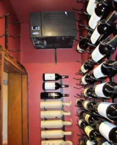 CellarPro 1800 Wine Cellar Cooling Unit. CellarPro wine cellar cooling units are highly efficient and we have installed quite a few in most of our u2026 & CellarPro 1800 Wine Cellar Cooling Unit. CellarPro wine cellar ...