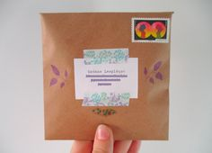 Snail Mail, Letters, Journals, Crafts, Craft Ideas, Pretzels, Manualidades, Post Office, Letter