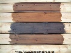 DIY wood floor staining - uneven sanding will lead to uneven staining ~ Art of Clean - UK - 01223 863632