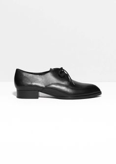 & Other Stories | Lace-Up Leather Shoes