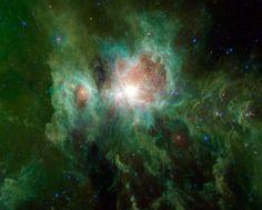 A intrigante nebulosa de Órion