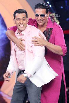 Salman Khan & Akshay Kumar on Bigg Boss