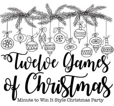 """Last night our Bible Fellowship Group hosted our 2nd annual """"12 Games of Christmas"""" party and we ate, hung out and competed in 12 minute to..."""