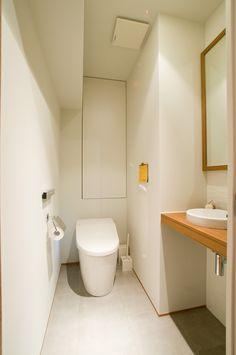 バス/トイレ事例:トイレ(心地良いカフェのような空間(リノベーション))