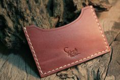Personalized Leather Card Case by SimpleFraction | Hatch.co-SR
