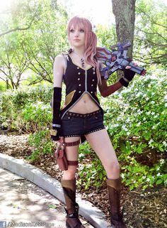 Serah final fantasy cosplay sex