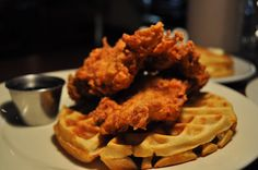 Fried Chicken and Waffles | Porkchop_Fried Chicken and Waffles 1 | The Real Chicago Online