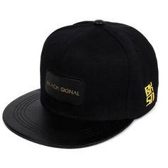 Black Snapback Cap Men Hip Hop Baseball Cap Women Summer Baseball Caps  Snapback Cap 94ddd92d841d