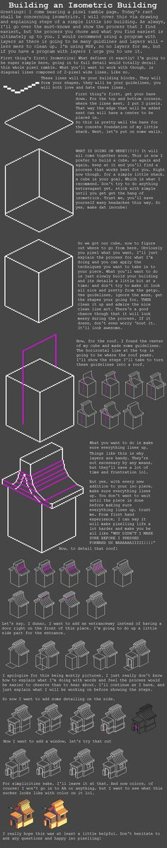Isometric Tutorial by RHLPixels on DeviantArt