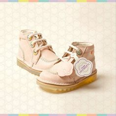 The love heart Kickers boots look sweet enough to eat.