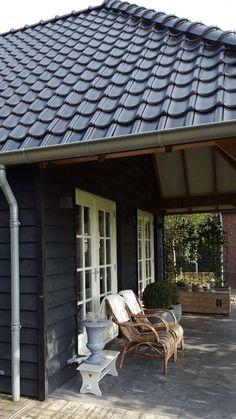Kleur overkapping / tuinhuis