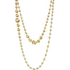 Marco Bicego 18K Gold Africa Necklace (207,065 MXN) ❤ liked on Polyvore featuring jewelry, necklaces, yellow gold jewelry, graduation jewelry, yellow gold necklace, 18 karat gold jewelry and marco bicego necklace