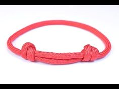 Make the Sliding Knot Friendship Paracord Bracelet - Bored Paracord - YouTube