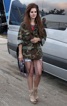 lana at 'Isle Of Wight Festival', UK (June 22, 2012)