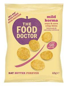 The Food Doctor Wholesome Crisps on Packaging of the World - Creative Package Design Gallery