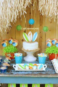 Disney Teen Beach Movie Party via Kara's Party Ideas Kara'sPartyIdeas.com #TeenBeachMovie #Luau #PartyIdeas #Supplies (5) | Kara's Party Ideas