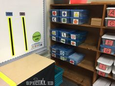 Independent Work Area in an Autism Classroom- Simply Special Ed