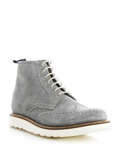 cfcdcb74287d Grenson Lewis Suede Boots Wingtip just bought these in black  ) Suede Boots