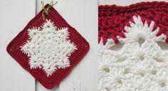 Le #flocon de #neige au #crochet