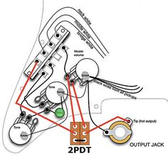 jeff baxter strat wiring diagram - Google Search