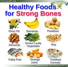 Health Foods for Strong Bones, , health fitness nutrition, Fitness Nutrition, Health Diet, Health And Nutrition, Health Foods, Bone Health, Healthy Tips, Healthy Eating, Healthy Recipes, Bone Healing Foods
