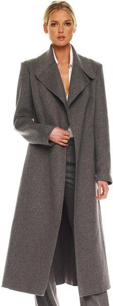 Michael Kors Melange Melton Coat