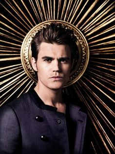 TVD S4 Photo Shoot Outtake of Paul Wesley