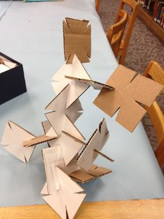 In the Children's Room: 25 Days of Art: Building Squares