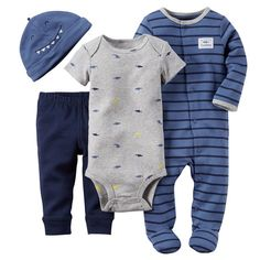 4-Piece Take-Me-Home Set, Blue