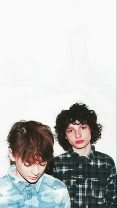 Noah Schnapp and Finn Wolfhard wallpaper