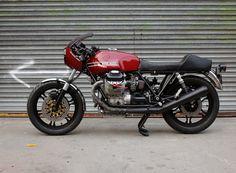 Moto Guzzi Cafe Racer - Moto Borgotaro - RocketGarage