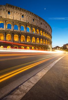 Coliseum, past and future !  by Beboy Photographies, via 500px
